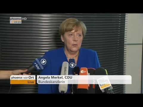 Ehe für alle: Statement von Angela Merkel zur Abstimmung am 30.06.17