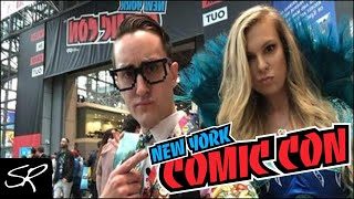 🔴 LIVE New York Comic Con 2018: WWE Cosplaying & Show Floor Tour!