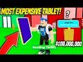 BUYING The MOST EXPENSIVE TABLET In TEXTING SIMULATOR UPDATE!! (Roblox)