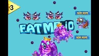Octopus con la Skin Gris#3| Eatme.io Siendo el rey