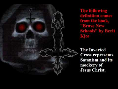 anti christ upside down - photo #25