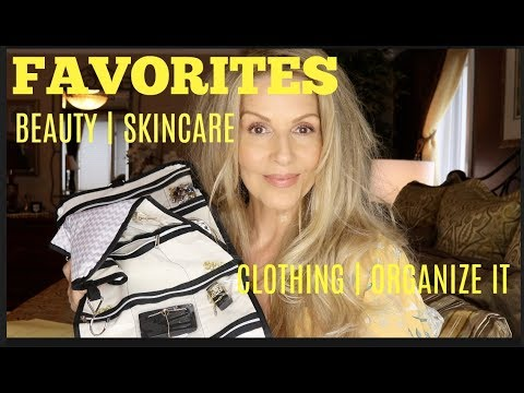 FAVORITES | Beauty | Skincare | Clothing | Organize It  | #Maturewoman thumbnail
