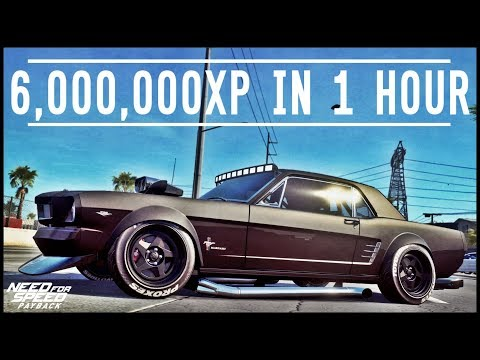 NFS Payback - 6,000,000 XP IN 1 HOUR + EASY MONEY/UPGRADES/SHIPMENTS