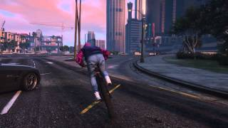 GTA 5 online горный велосипед(Посмотреть все видео редактора Rockstar от Na-Hulk на http://socialclub.rockstargames.com/member/Na-Hulk., 2015-07-07T21:47:42.000Z)
