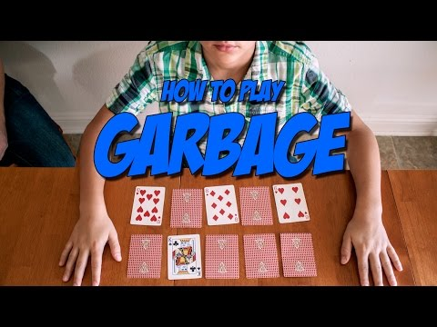 Card Games for Kids | Garbage
