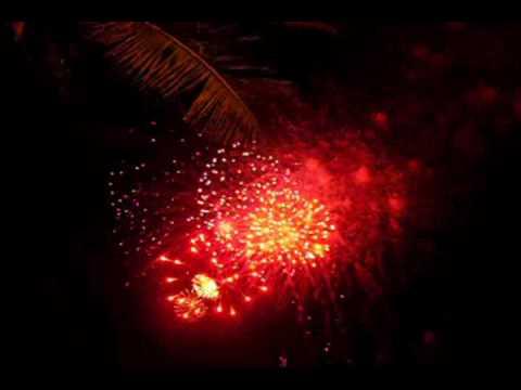 Đảo Phú Quý- Pháo hoa đêm giao thừa