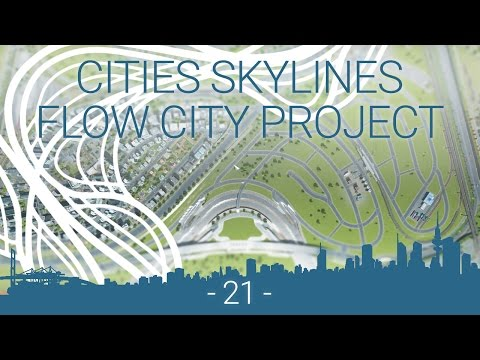 Cities: Skylines - EP 21 - organic industry zone layout