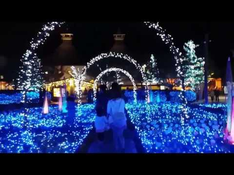 Winter illumination, Nabana no sato, Mie Prefecture, Japan
