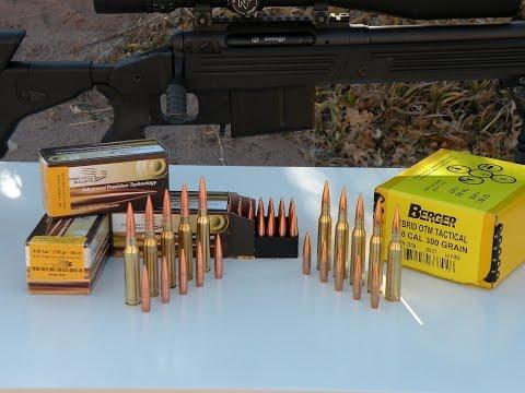 338 Lapua Solid Copper vs Lead Core Bullets