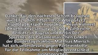 """""""Tritt ein, sag nein"""" –              Jusos werben erfolgreich GroKo-Gegner an"""