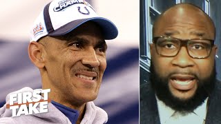 Marcus Spears: Tony Dungy should coach the Cowboys next season | First Take