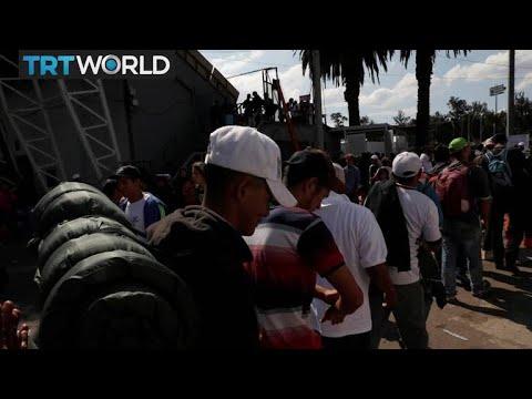 Migrant Caravan: US