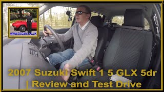 Review and Virtual Video Test Drive In Our 2007 Suzuki Swift 1 5 GLX 5dr PF57VFX