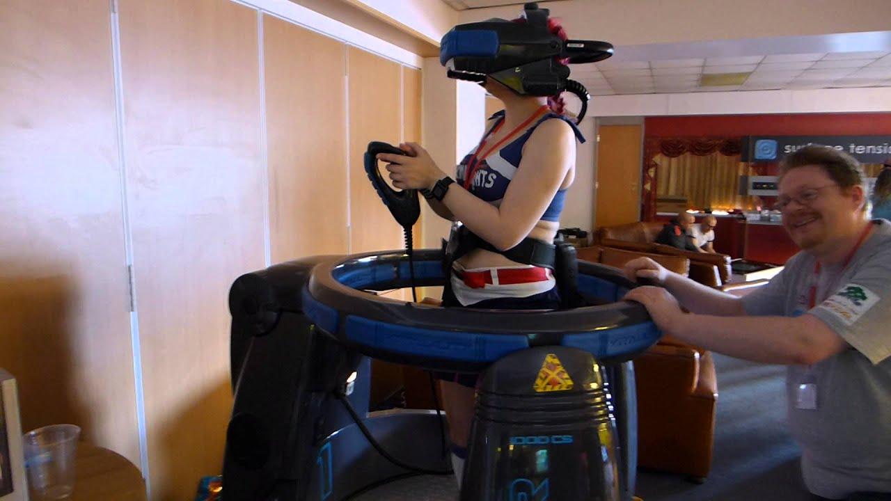 Virtuality 1000CS Virtual Reality Pod YouTube