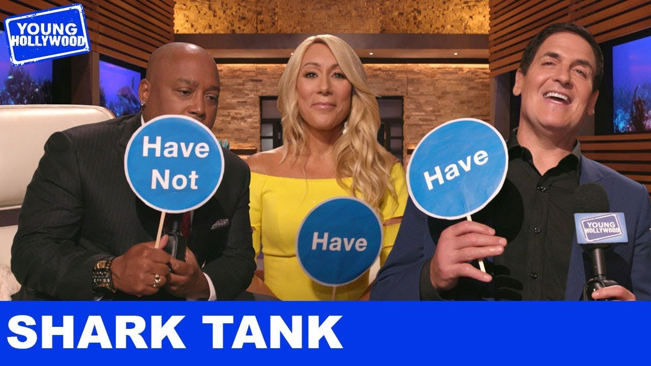 The Sharks Play Never Have I Ever Shark Tank Style