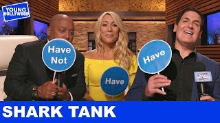 The Sharks Play 'Never Have I Ever' Shark Tank Style!