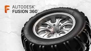 Modelling a Monster Truck Wheel - Fusion 360