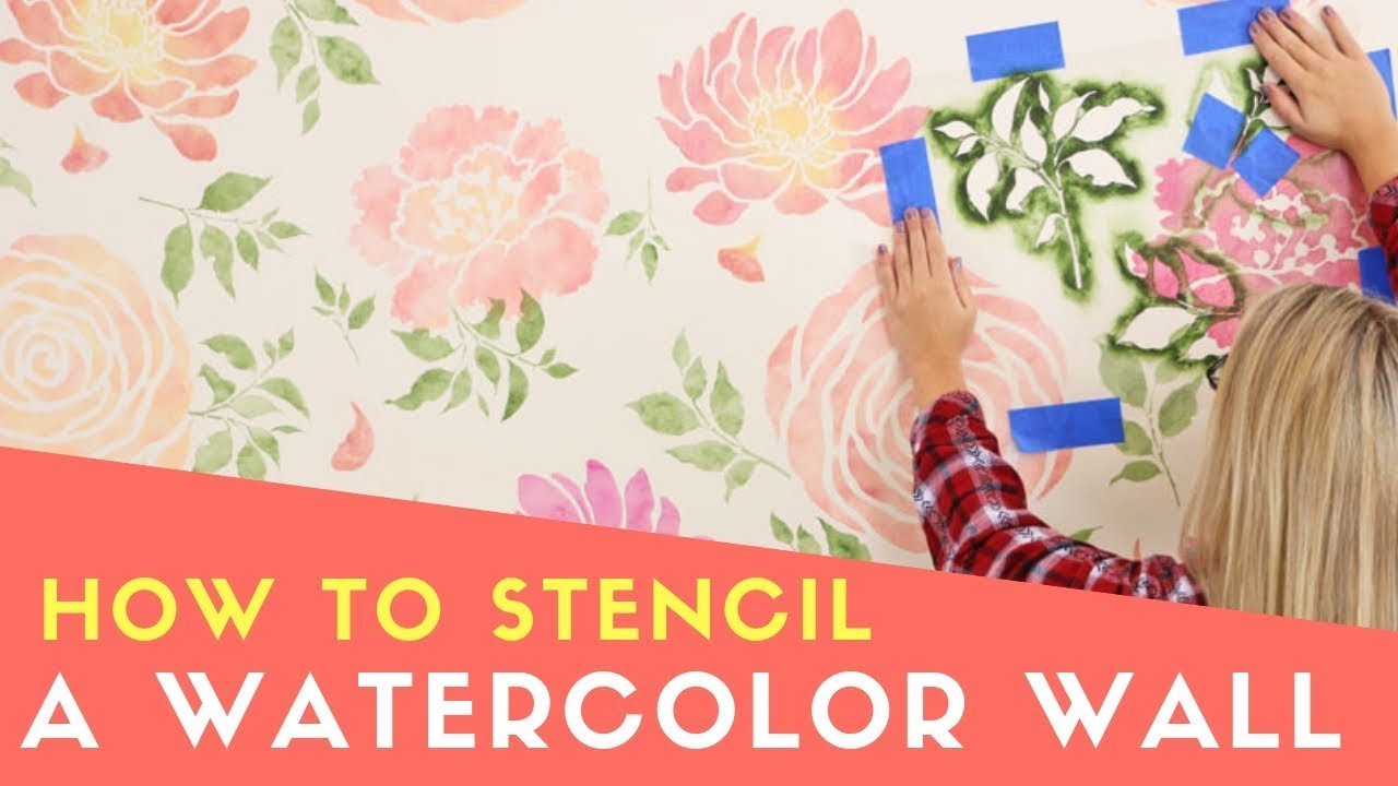 Great Wall Stencils for Less Tree Peony Wall Stencil Flower Stencils for DIY