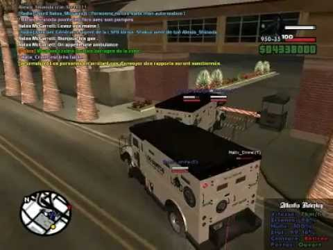 GTA SA Multiplayer Swat Mission
