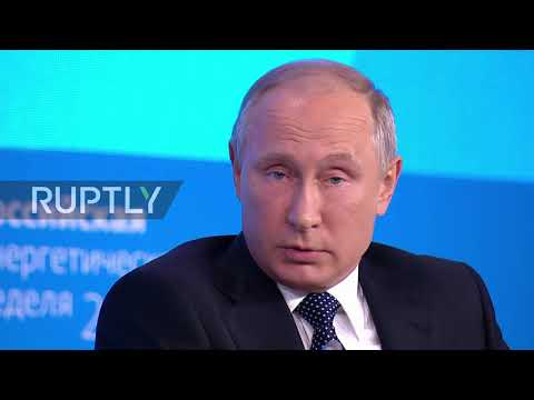 Russia: 'Do you think we're only going to drive carts?' - Putin at Russian Energy Week