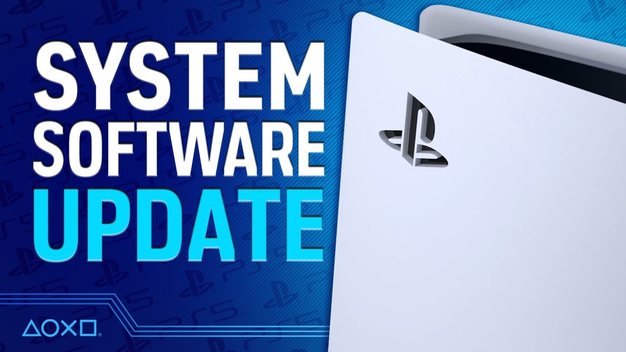 PS5's First Major System Software Update - 7 Things You Need To Know
