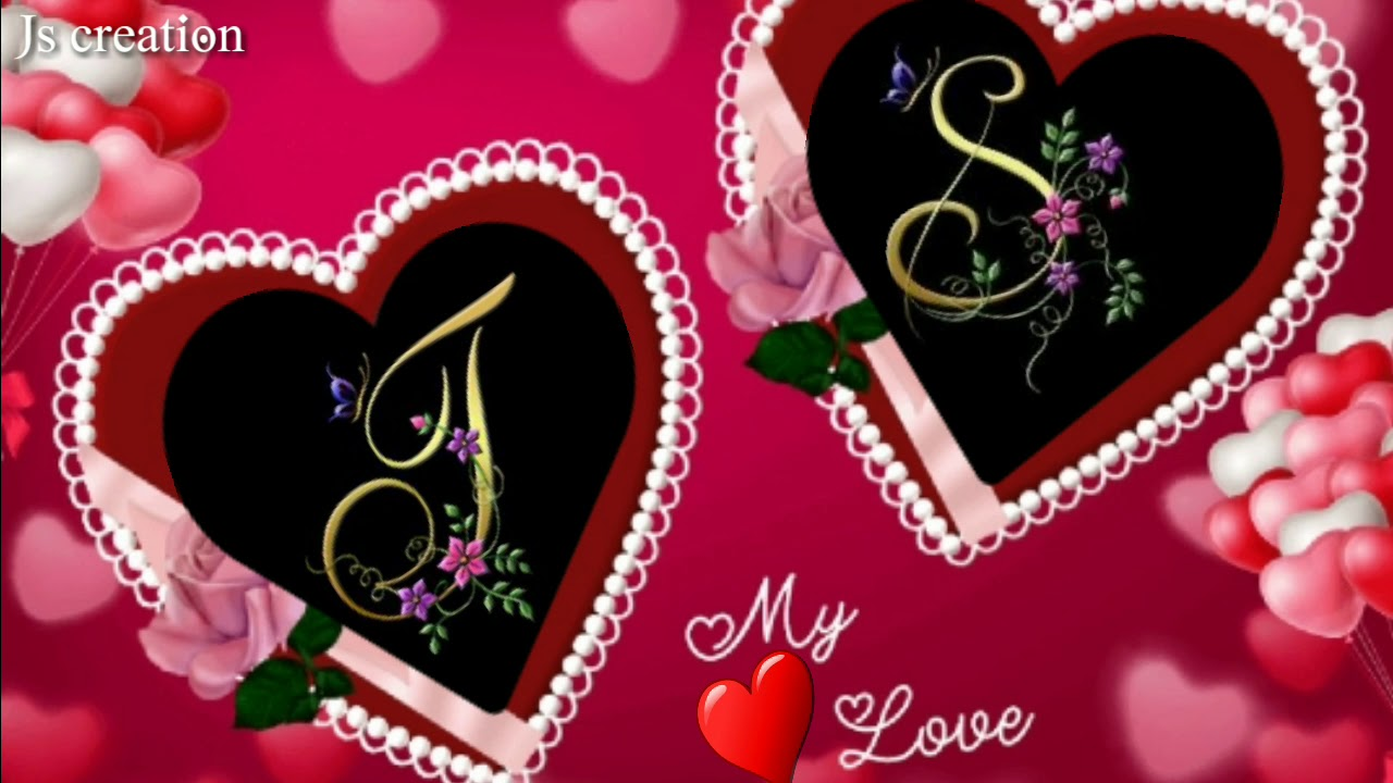 Js Creation J S Letter Whatsapp Status 2019 J S Youtube