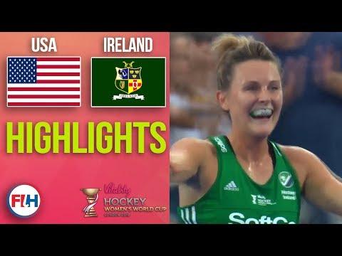 USA v Ireland | 2018 Women's World Cup | HIGHLIGHTS