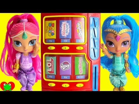 Shimmer and Shine Vending Machine Surprises