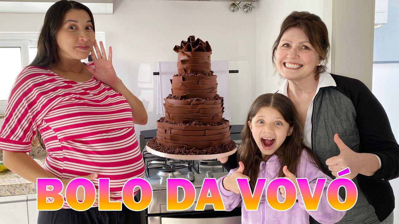 ★ VOVÓ E MASUDINHA FIZERAM UM BOLO PARA ISADORA ★