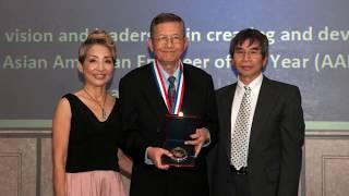 Dr. Thomas Wu received CIE Centennial Medal