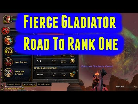 Road To Rank 1 - Fierce Gladiator Legion Season 5