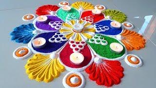 Diwali Beautiful Rangoli Designs/इस दिवाली पर बनाये Colourful Rangoli Designs for Diwali - thumbnail