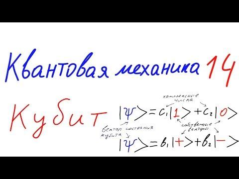 Квантовая механика 14 - Кубит. Поляризация фотона.