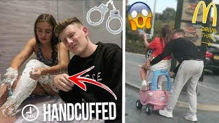 HANDCUFFED TO MY LITTLE SISTER FOR 24 HOURS!! *bad idea*