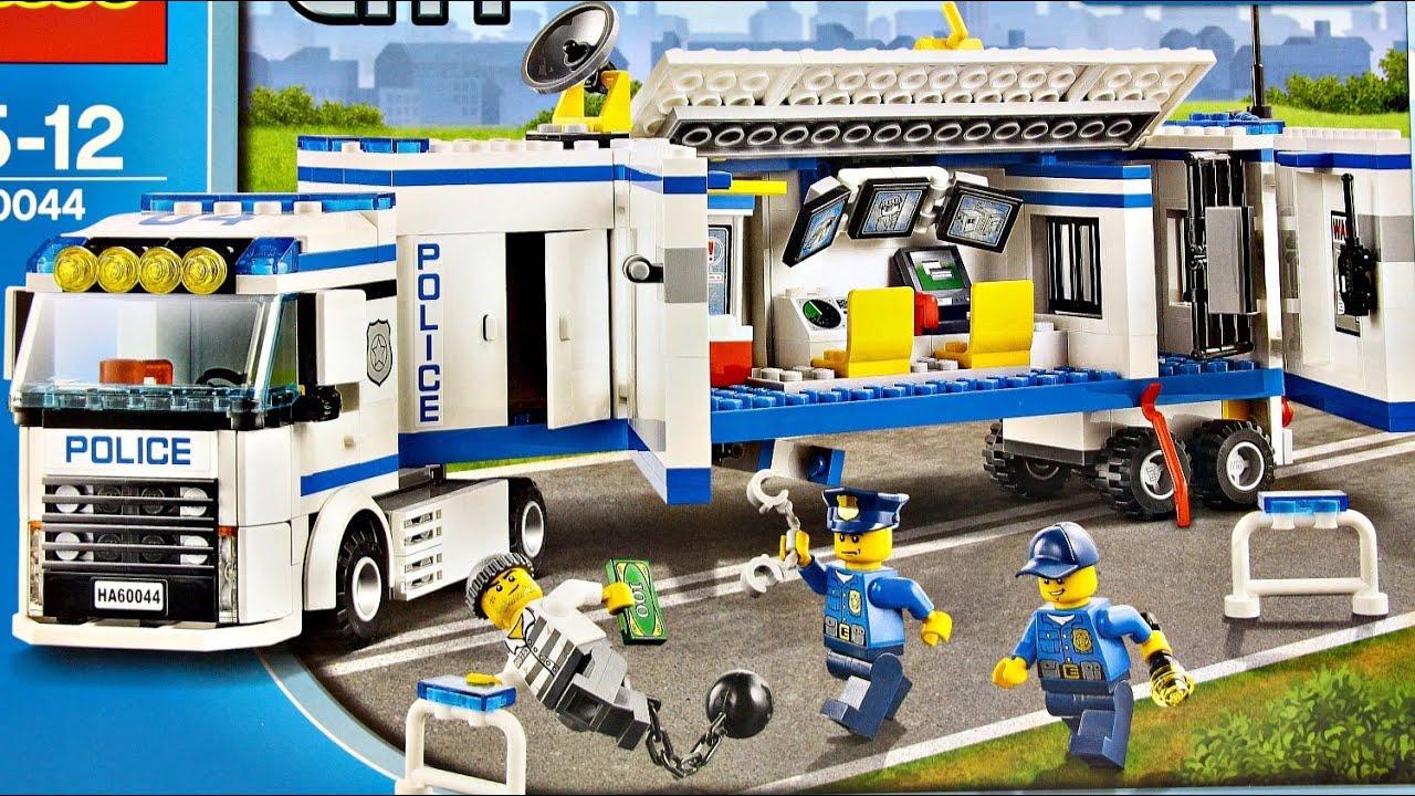 Mobile Police Unit Mobilna Jednostka Policji 60044 Lego City