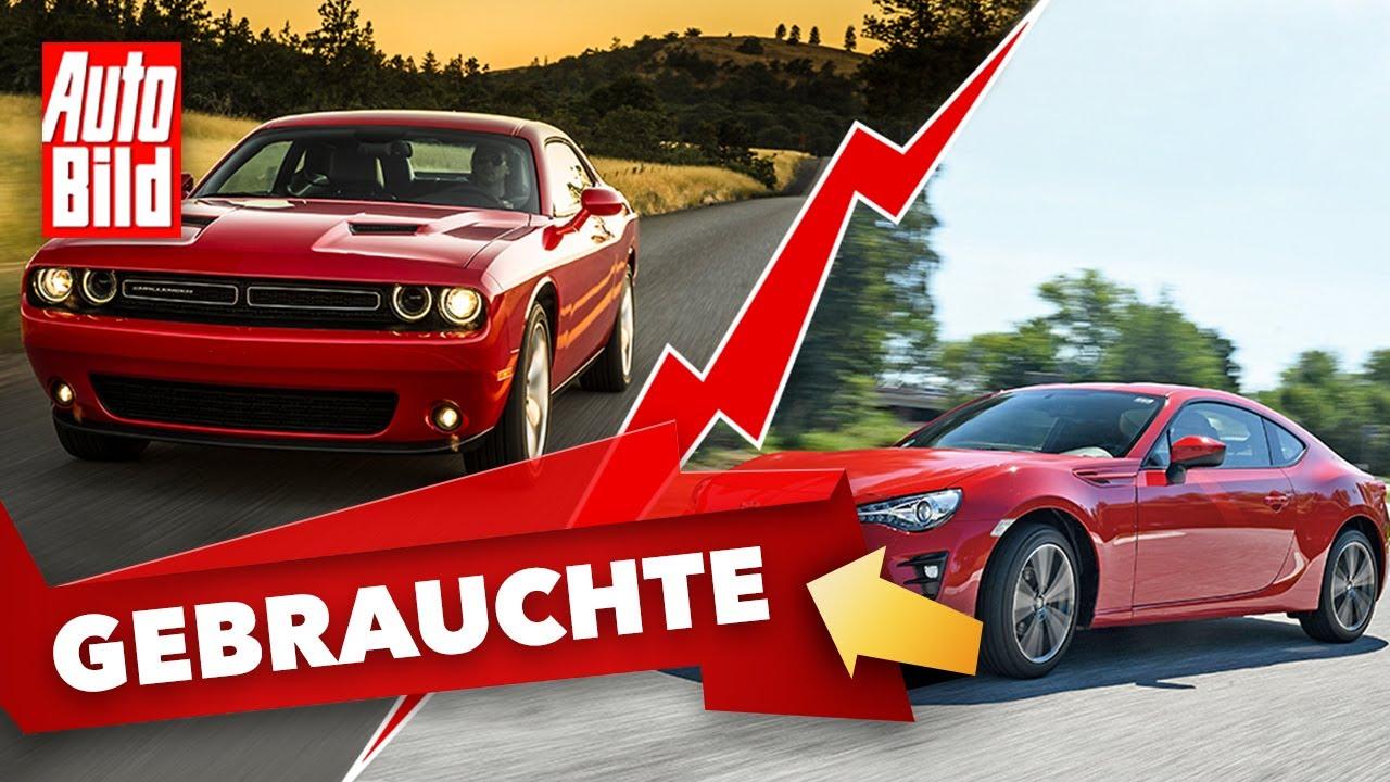 Dodge Challenger & Toyota GT86 |Das Gebrauchtwagen-Battle mit Conny Poltersdorf & Moritz Doka