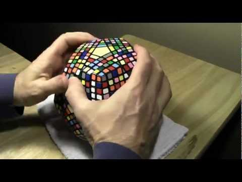 Petaminx Solve - Time Lapse