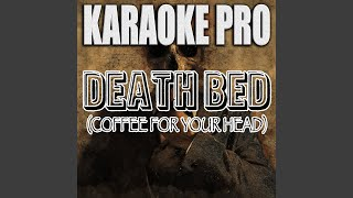 Cover images Death Bed (Coffee For Your Head) (Originally Performed by Powfu)