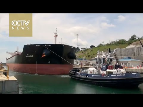 Chinese vessel first to sail through Panama's expanded canal