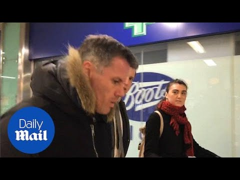Jamie Carragher says he 'apologised' to family for spitting - Daily Mail