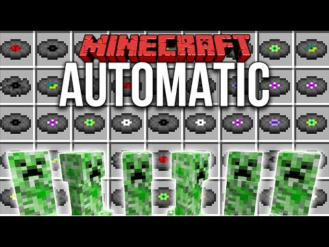 Minecraft 1.12: Automatic Record Farm / Creeper Farm