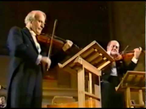 J.S. Bach - Triple Concerto / Sir Yehudi Menuhin, Igor and Valery Oistrakh