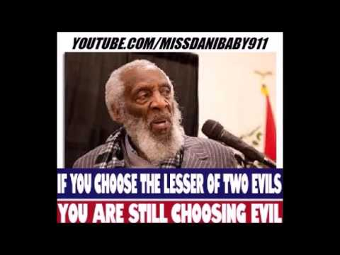 Dick Gregory: FLINT WATER CRISIS, DELIBERATE GOV'T POISONING, BUNDY'S, LESSER OF 2 EVILS??