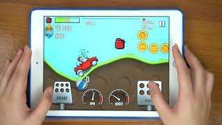 Hill Climb Racing - ALL VEHICLES UNLOCKED - Video Gameplay