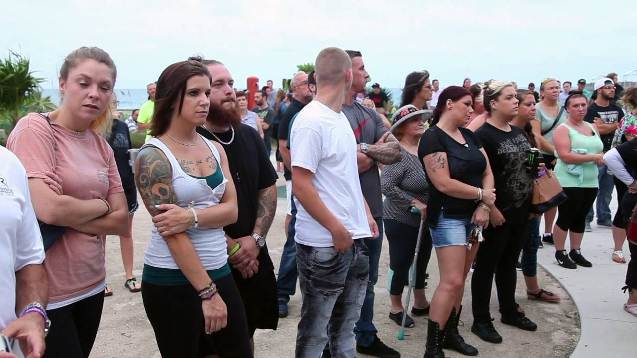 VIDEO:  International Overdose Awareness Day Gathering on Lake Worth Beach.mp4