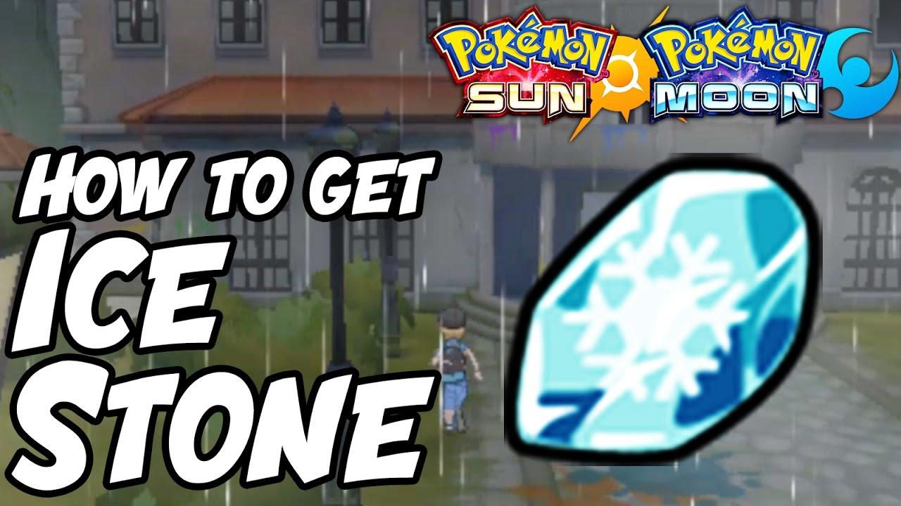 How to Get Ice Stone Location – Pokémon Sun and Moon Ice Stone ...