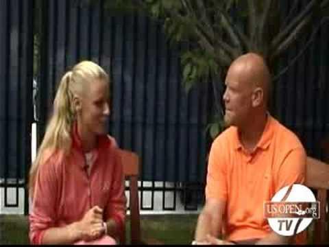 2008 US Open - Off-Court Spotlight with Elena Deme...