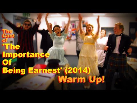 Thomas Whitham Sixth Form Students Warm Up