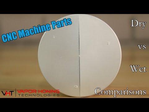Why is Vapor Honing the BETTER option? - CNC Machined Aluminum part - Vapor Honing Technologies