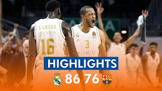 Resumen | Real Madrid 86 - 76 FC Barcelona
